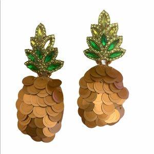 Kate Spade by the Pool Pineapple Drop Earrings